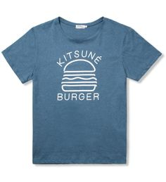 Kitsune - Burger Tshirt