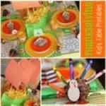 FREE Thanksgiving Kid's Table Printables