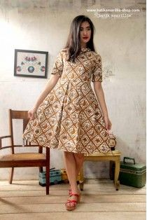 batik amarillis's it girl dress-PO
