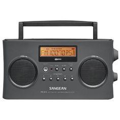 Sangean Digital Portable Stereo Rds Receiver