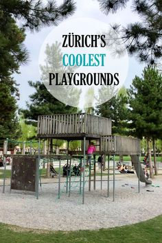 We all know that Zürich is not the cheapest place to live. However, Zürich boasts an impressive 160 public playgrounds which are free of charge. Outdoor Activities For Kids, Travel Activities, Family Activities, Cheapest Places To Live, Cool Playgrounds, Mall Of America, North America, Switzerland Vacation, Parks