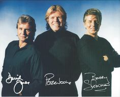 Davy Jones, Peter Noone, & Bobby Sherman    Loved all of their music, but Davy and Bobby were my teen heart throbs!!.