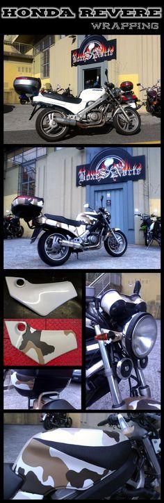 HONDA REVERE - PROYECTO WRAPPING  #Honda #Revere #Wrapping #Moto
