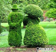 .mr and mrs topiary