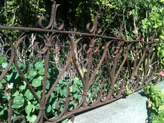seascape garden and maritime design - ancestor fence