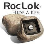 #MadeinUSA #MadeinAmerica - The @RocLok Hide a Key is the only key lock box that hides in plain sight disguised as a natural rock. A realistic look, feel and weight, RocLok key safes are a concrete faux stone molded from rocks found throughout the United States. Unlike bulky lock boxes which can draw unwanted attention to where you hide the key, the RocLok discretely hides in any landscape keeping your family and home safe. Proudly Made in USA!