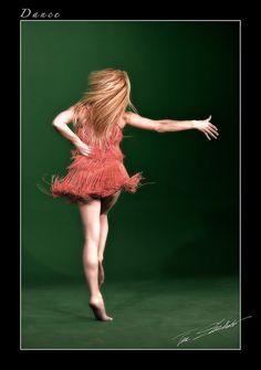 Dancer on Green