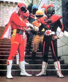 Himitsu Sentai Goranger & Kamen rider Stronger