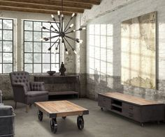 Interior Photo Industrial Low Entertainment Center Interior Photo Industrial Interior Design