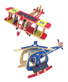 Look at this Solar Powered 3-D Puzzle Kit on #zulily today!