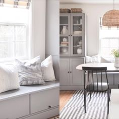 Built In Dining Room Seating, Banquette Design, Ikea Dining Room, Banquette Seating In Kitchen, Dining Room Bench Seating, Storage Bench Seating, Diy Storage Dining Bench, Ikea Living Room Storage, Dining Bench With Back