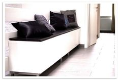 besta bench for shoes House Interior, Ikea, Decor Inspiration, Home, Interior, Home Diy, Storage Bench, Home Decor, Room