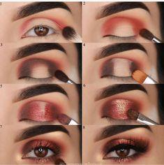Tutorial Augen Make-up - Prom Makeup Black Girl Eye Makeup Tips, Makeup Hacks, Makeup Goals, Makeup Inspo, Makeup Inspiration, Beauty Makeup, Makeup Eyeshadow, Makeup Ideas, Makeup Products