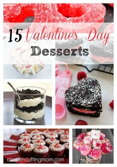 Here are 15 easy and yummy Valentine's Day dessert recipes that everyone in your family will enjoy.