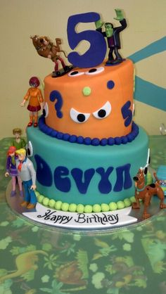 Scooby Doo Cake Ha So Glad I Didnt Spell His Name With A