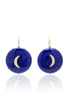 Andrea Fohrman Crescent Turquoise Moon Earrings In Blue Moon Earrings, Candles, Turquoise, Blue, Jewelry, Women, Fashion, Moda, Jewlery
