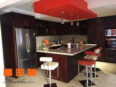 Mejores 37 imgenes de muebles de cocina con desayunador en mueble de cocina con desayunador y torre de hornos thecheapjerseys Images
