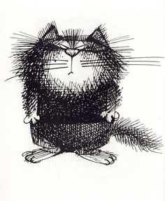 Коты художника Виктора Чижикова Cat Drawing, Line Drawing, Black And White Doodle, Drawing Projects, Cute Animal Drawings, Ink Illustrations, Typography Prints, Whimsical Art, Animal Design