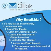 Pick Up Your Email as per your Requirement and Identity