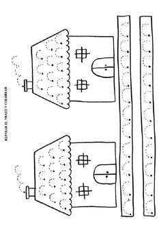 Actividades para imprimir Ejercicios de grafomotricidad básica. http://pequescuela.com/actividades-preescolar-imprimir-grafomotricidad-basica5.html