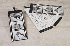 Fotofilm labels in zwart en wit!   Tadaaz