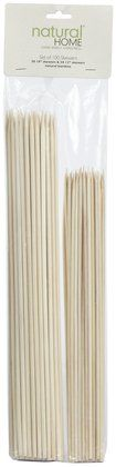 Natural Home Products 100ct Bamboo Skewers (2 lengths) #stockingstuffers