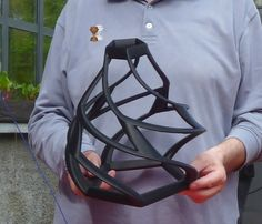 Dodecahedron: changing geometry. 3D printing. #3dprint #3dart