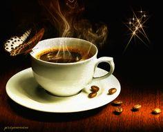 Кофейный аромат-(анимация из инета. Обсуждение на LiveInternet - Российский Сервис Онлайн-Дневников