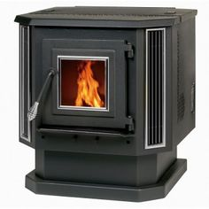 Heating your home with a fireplace is never going to go out of style, but the Summers Heat Pellet Stove takes the classic hearth in a modern direction. Best Pellet Stove, Pellet Stove Inserts, Wood Pellet Stoves, Pellet Stoves For Sale, Pellet Burner, Pellet Heater, Wood Heaters, Home
