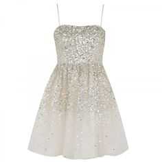 Alice+Olivia Tallulah Sequin Dress: delicate as a costume from the Waltz of the Snowflakes