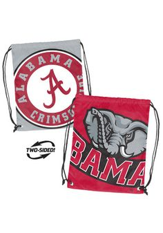 Alabama Crimson Tide Maroon Doubleheader Gym Bag