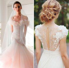 vestido-de-noiva-aplicacao-de-flores-3d-decote-manga