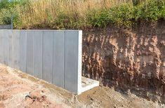 Fence Design, Garden Design, Gabion Wall, Concrete Building, Pole Barn Homes, Garden Studio, Brick Patios, Outdoor Living, Outdoor Decor