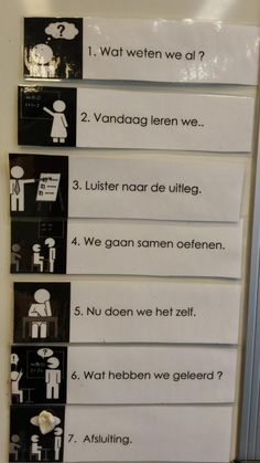 Gezien: visualisatie van de lesfasen. #EDINL Teach Like A Champion, Visible Learning, Special Educational Needs, Co Teaching, Leader In Me, Cooperative Learning, School Organization, Primary School, Classroom Management