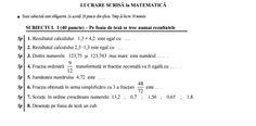 Model teza la matematica pentru clasa a 5-a, semestrul 2+ rezolvare – #JitaruIonelBLOG -pregatire BAC si Evaluarea Nationala 2019 la matematica si alte materii! *materiale (lectii +formule +exercitii rezolvate matematica) gimnaziu si liceu; *edu.ro modele BAC 2019 modele Evaluare Nationala 2019; *modele simulare Evaluare Nationala BAC 2019 2018 2017 2016 2015 2014 2013 2012 2011 2010 subiecte.edu.ro; Modele comper 2019; evaluare nationala clasele 2 4 6 modele 2019; *titularizare 2019 calendar mo Math Equations, Model, Calculus, Scale Model, Models, Template, Pattern, Mockup