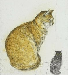 Elizabeth Blackadder - Abysinnian  Cat, 2003