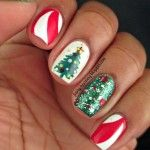 357 Holly Jolly Christmas Nail Art Designs You're Gonna Love!