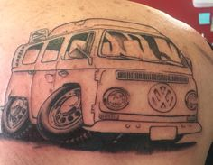 My vw bus tattoo