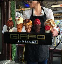 Giapo Ice Cream Factory, Queen St #witcherystyle