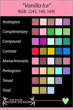 presented by: Eva Maria Keiser Designs Color Harmony:  Vanilla Ice