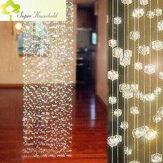 Curtains Decorative Door Curtain Beads Room Divider Window Shutters Roller Blinds Window Door Passage Backdrop