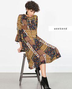 #zaradaily #weekend #woman #dress