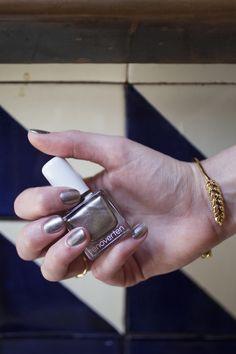 Shimmery bronze beauty Grand, tenoverten's new Holiday '14 polish, is the perfect pick to light up any holiday celebration! #Sephora #nailpolish #nailspotting