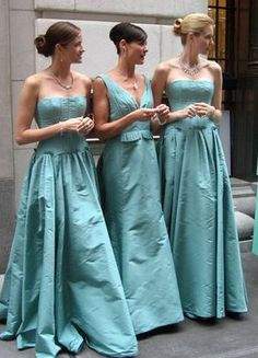 Mint Bridesmaids Dresses #Bridesmaid #OuterInner