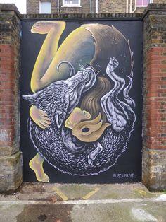 Fusca and Mazatl (2015) - Shoreditch, London (UK)