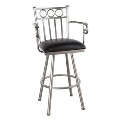 "Callee Washington 30"" Swivel Bar Stool Upholstery: Bacova Barley, Frame Finish: Flintrock Gray"