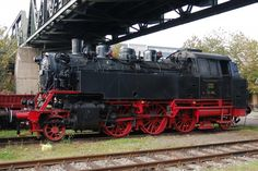 "The ""Bubikopf"" of Bw Kornwestheim, 64 094 is off duty on Sunday, October 2008 - Der Bubikopf des Bw Kornwestheim, 64 094 —- Germany - Electric Train, Steam Engine, Steam Locomotive, Luftwaffe, Diesel Engine, Model Trains, Cool Cars, Funny Animals, Transportation"