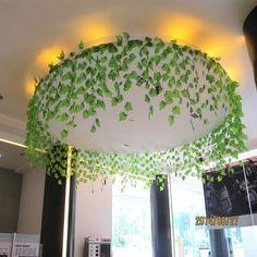 Reggio Inspired Classrooms, Reggio Classroom, Classroom Decor, Classroom Ceiling Decorations, Classroom Tree, Forest Classroom, Leaf Garland, Flower Garlands, Flower Decorations