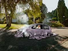 Melting Cars by Souverein , via Behance