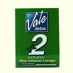 Vale's capsules extend the amount of time that a user has to provide their sample after using detox drink Detox Pills, Detox Drinks, Close Image